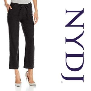 NYDJ Jamie Relaxed Ankle Pants in Stretch Linen 12